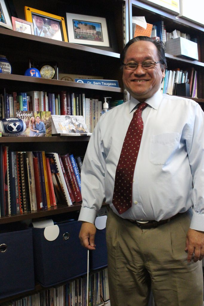 Dr. Samuel Tsugawa teaches music education at BYU after 29 years as a public school orchestra teacher