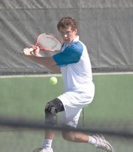 The BYU Tennis team fell to Kentucky in Lexington on Friday. Photo courtesy BYU Photo.
