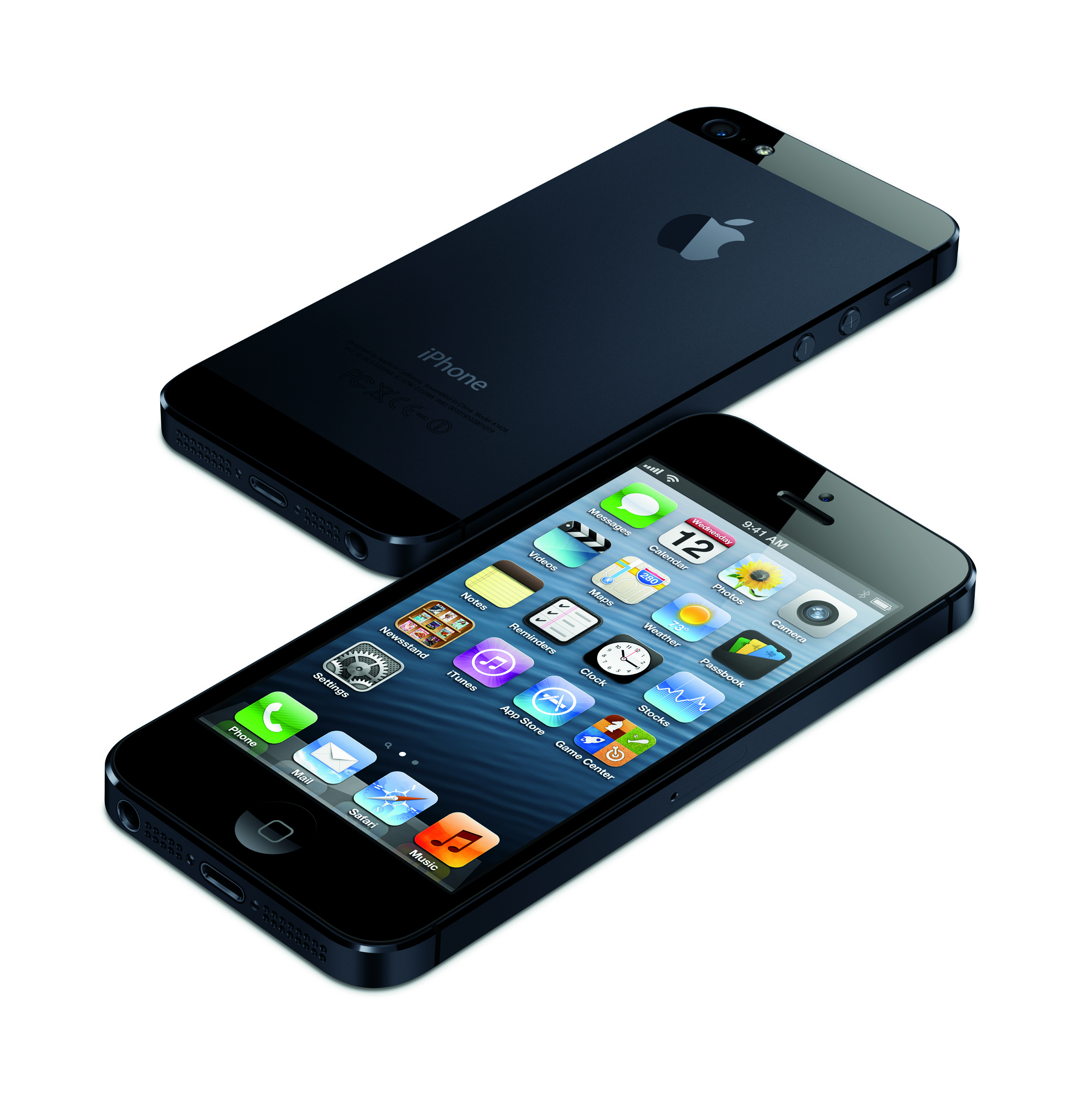 The new iPhone 5 boast a bigger screen, a slimmer body and a new connector.