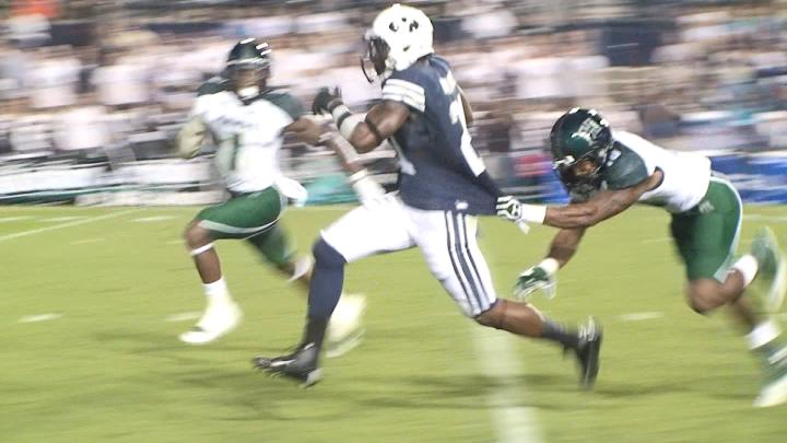 Jamal run to the 1 yd line
