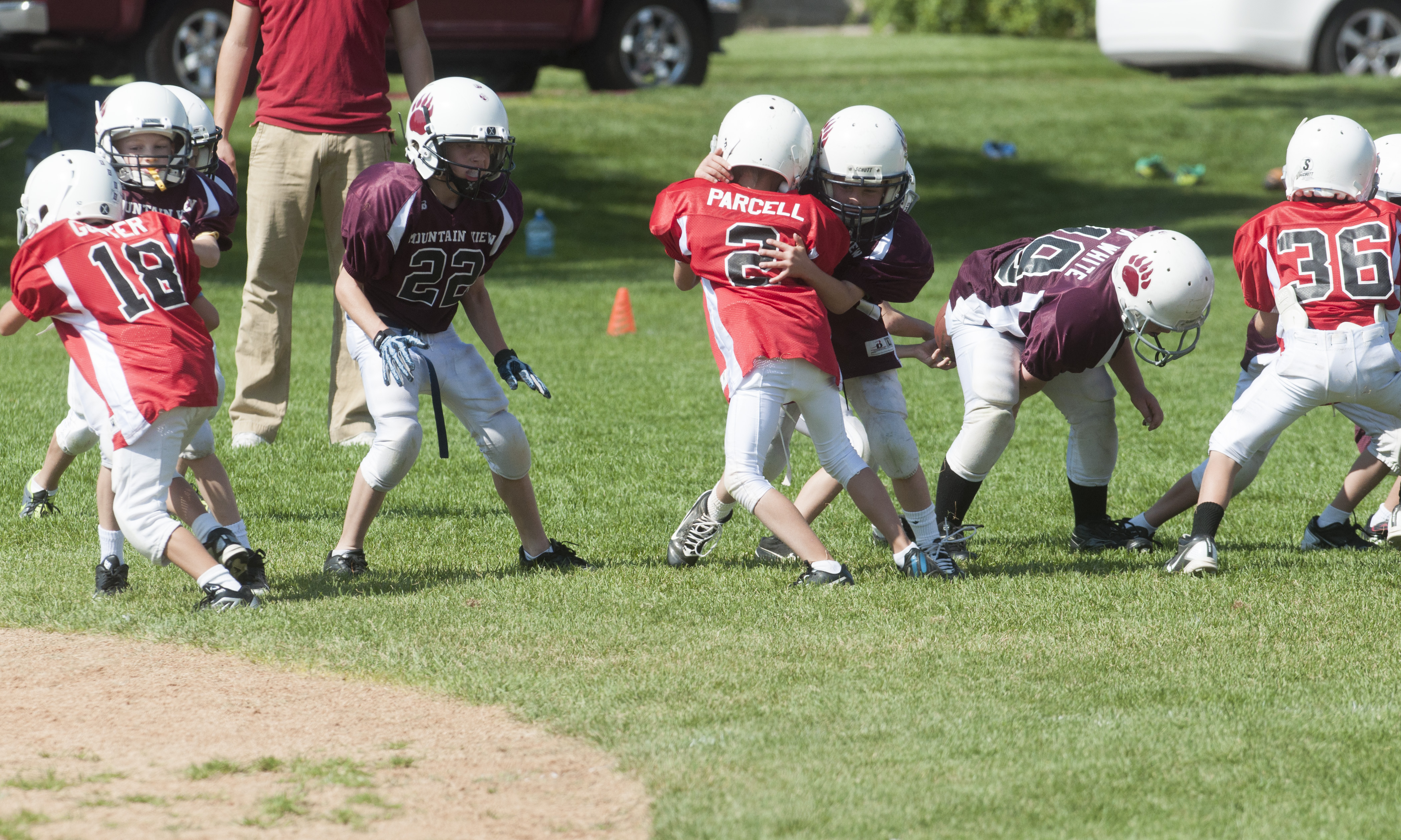A little league team coached by students take on their competitors.