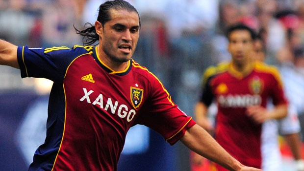 Fabian Espindola and Real Salt Lake face off with the L.A. Galaxy on Saturday