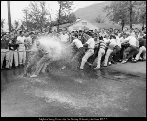 The_Brickers_and_Tausig_social_units_compete_in_a_tugofwar_May_20_1953