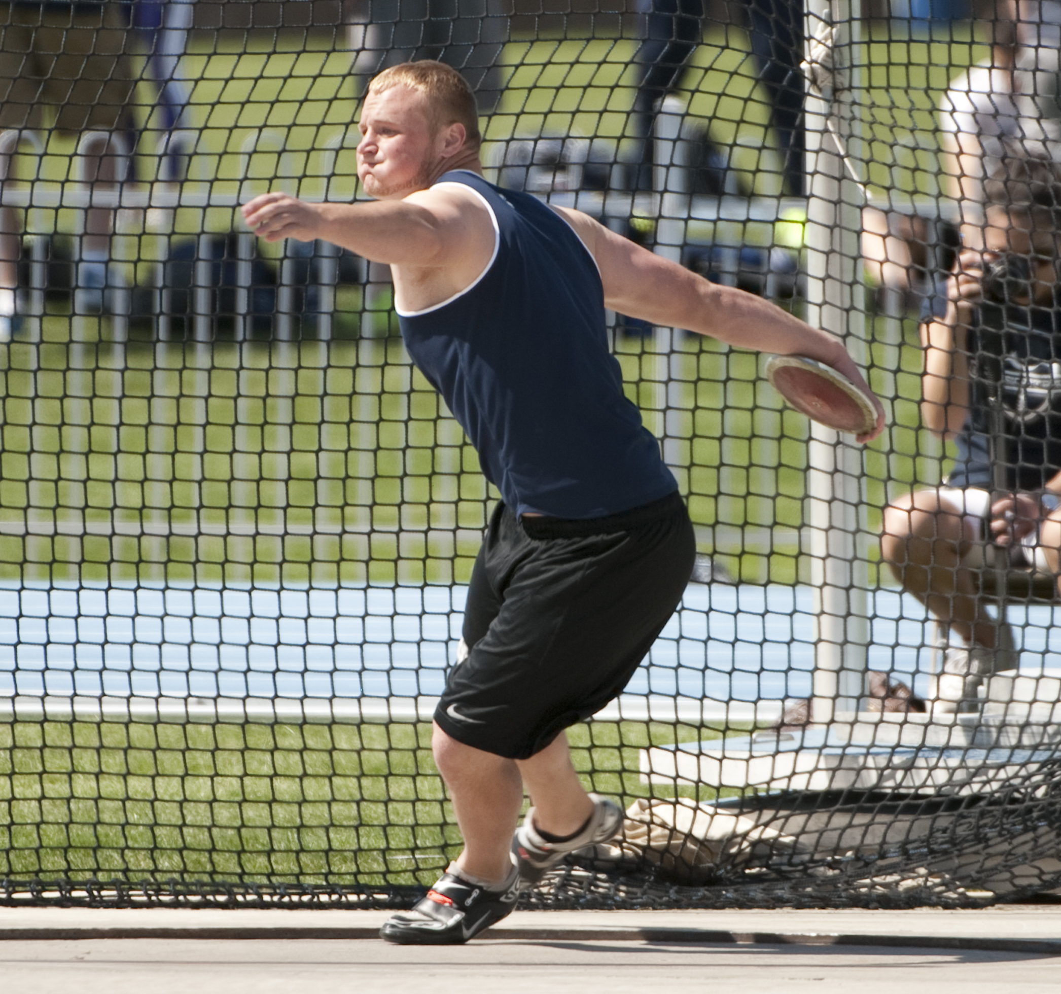 Discus Track And Field a Byu Track And Field Athlete