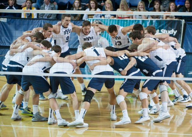 BYU men's volleyball undefeated at home for the entire season