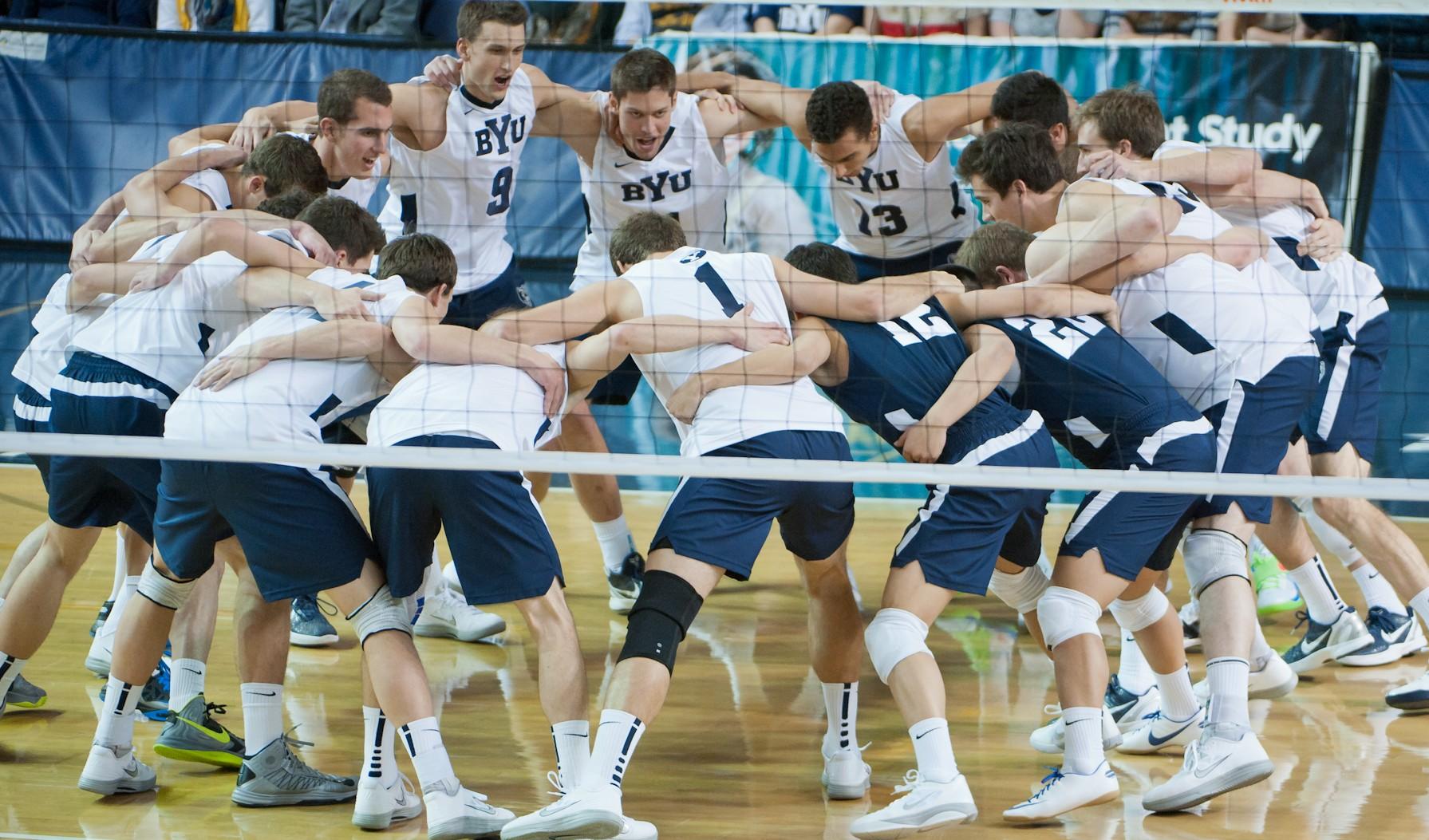 BYU men's volleyball mounts huge comeback, knock off No. 1 ...