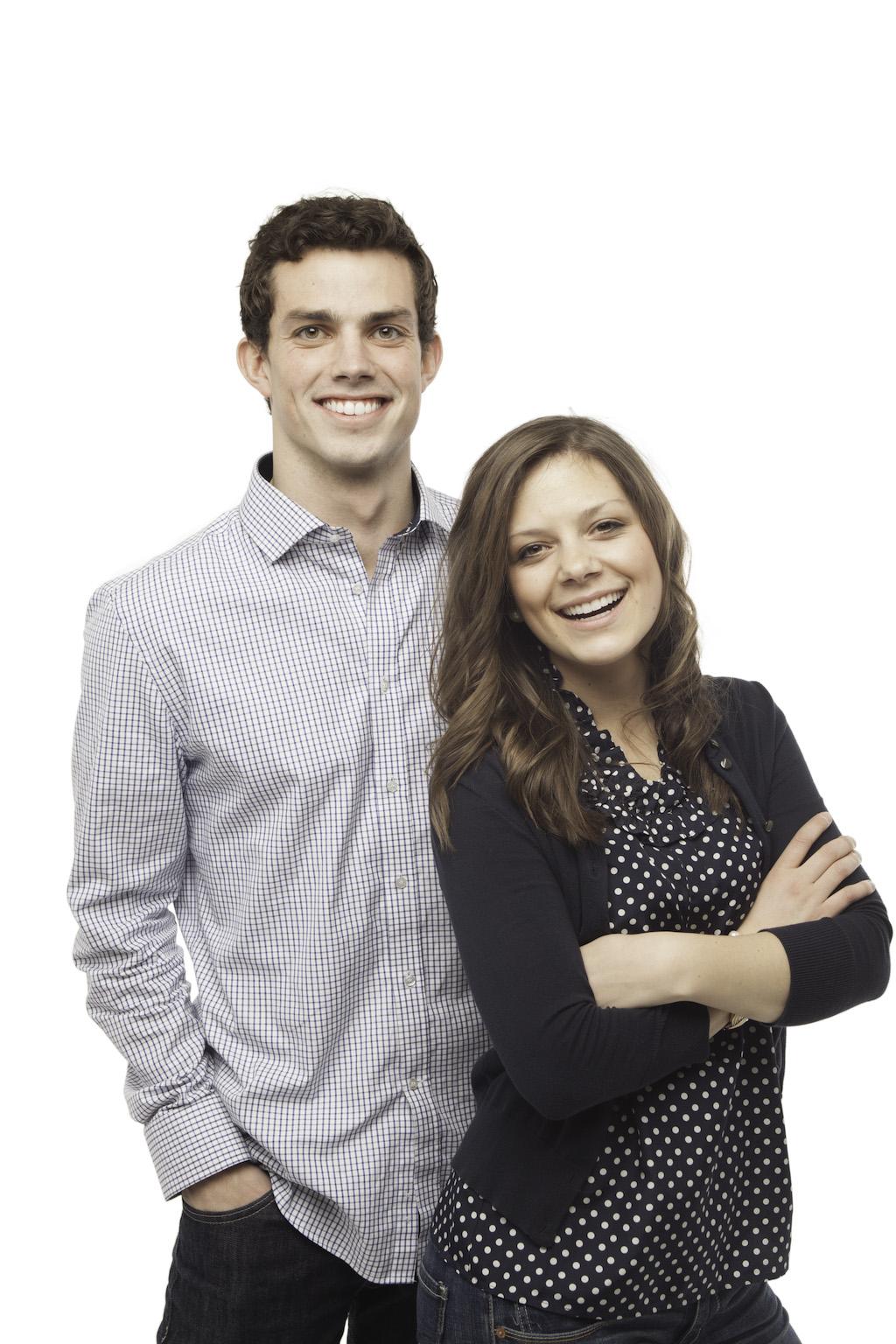 Brandon Beck and Erika Nash are running for BYU/SA president and vice president.