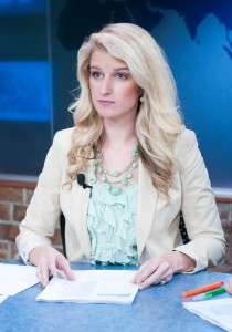 Alexis Flake is a news anchor for ElevenNews and recent recipient of a Gracie Award
