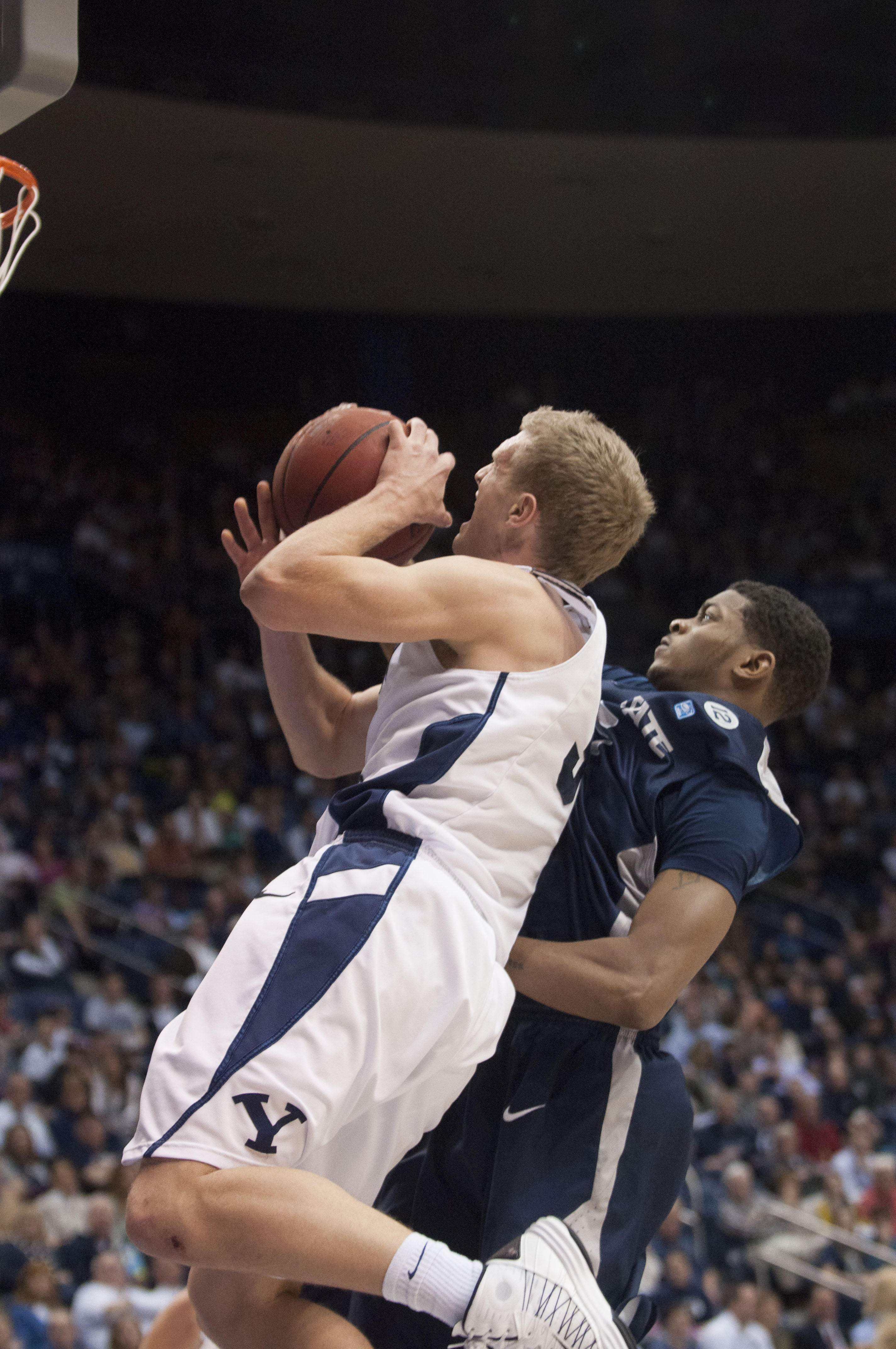 BYU basketball and football both are trying to return to the national spotlight. (Photo by The Universe)