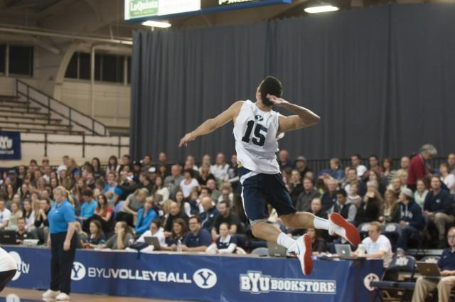 BYU sweeps UC San Diego as Sander breaks school record