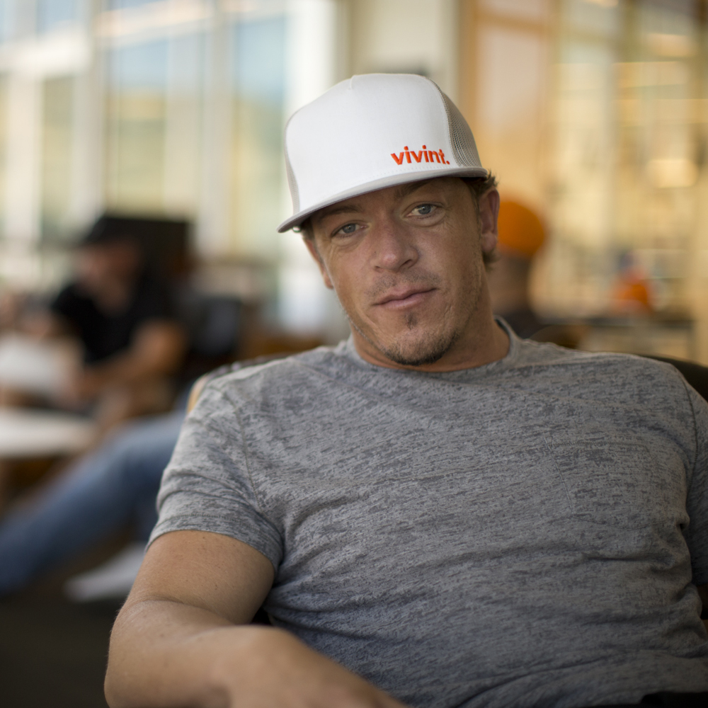Todd Pedersen, co-founder and CEO of Vivint, was named 2013 Entrepreneur of the Year by MountainWest Capital Network on Feb. 21. (Photo courtesy Vivint)