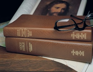 The English Scriptures have undergone several changes including changes to chapter headings and font styling. (Photo courtesy LDS Church)