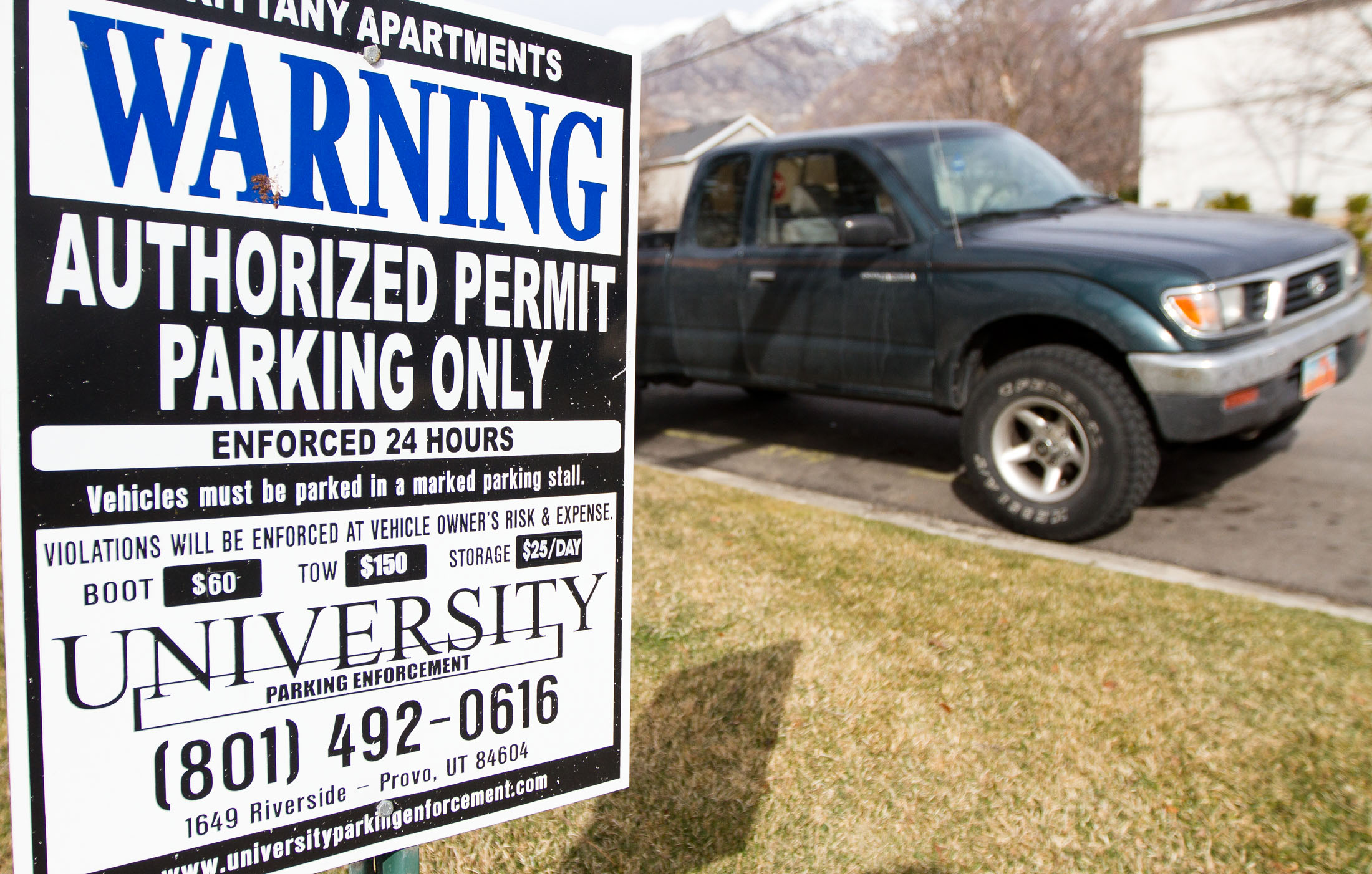 Predatory towing is an age-old issue and Provo, but new legislation may soon alleviate the issue. (Photo illustration by Sarah Hill)
