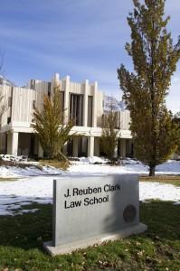 The J. Reuben Clark Law School. Photo by Sarah Strobel Hill.