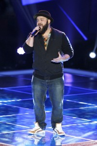Former BYU student Ryan Innes chose to be on Team Usher on NBC's 'The Voice.' (Photo courtesy NBC)