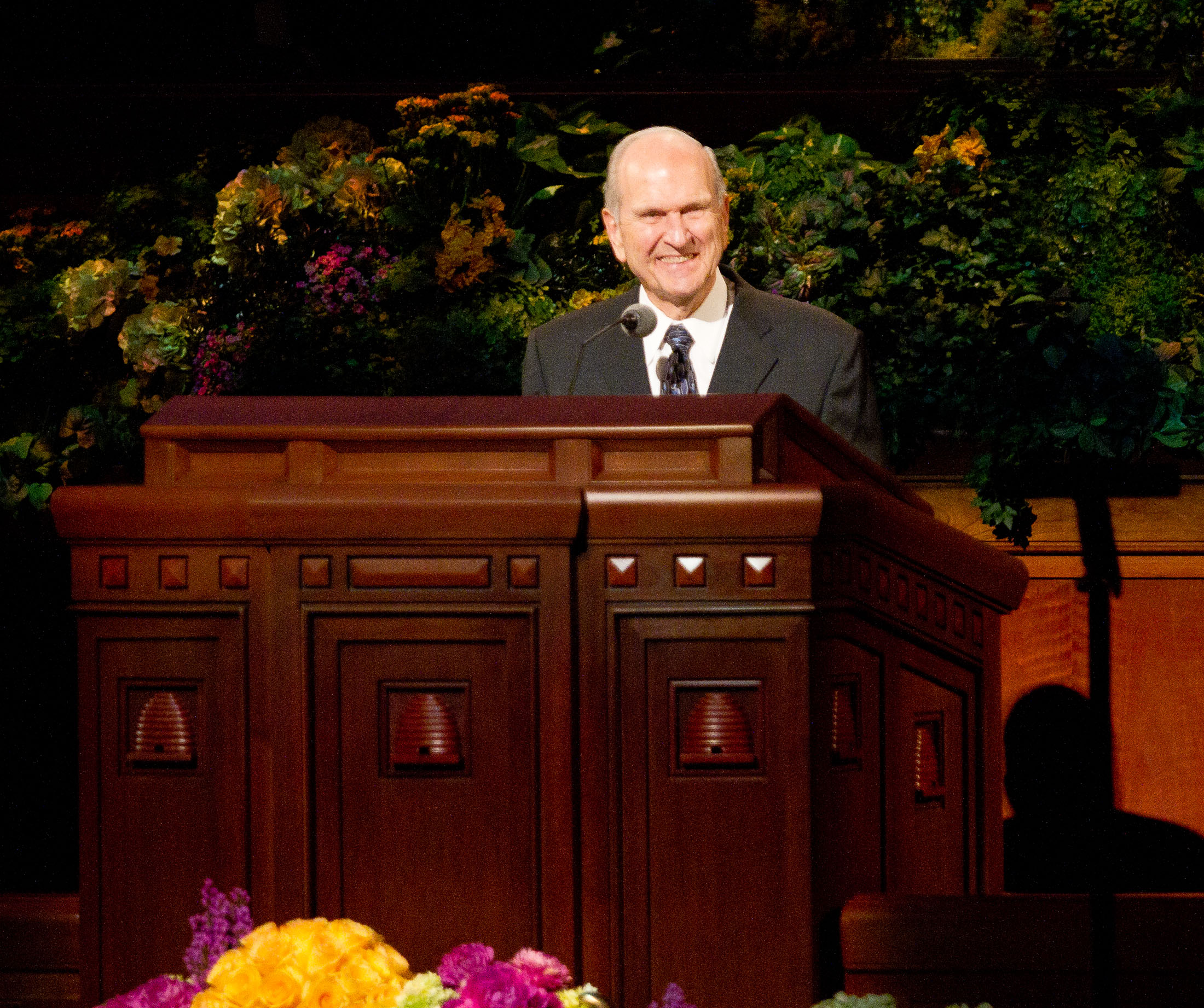 Russell M Nelson Young