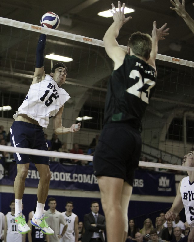 BYU takes a win, and Sander takes rally-scoring kills title