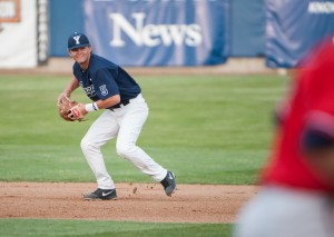 Hayden Nielsen and the Cougars beat Saint Mary's 14-3 to snag the third seed in the WCC tournament.