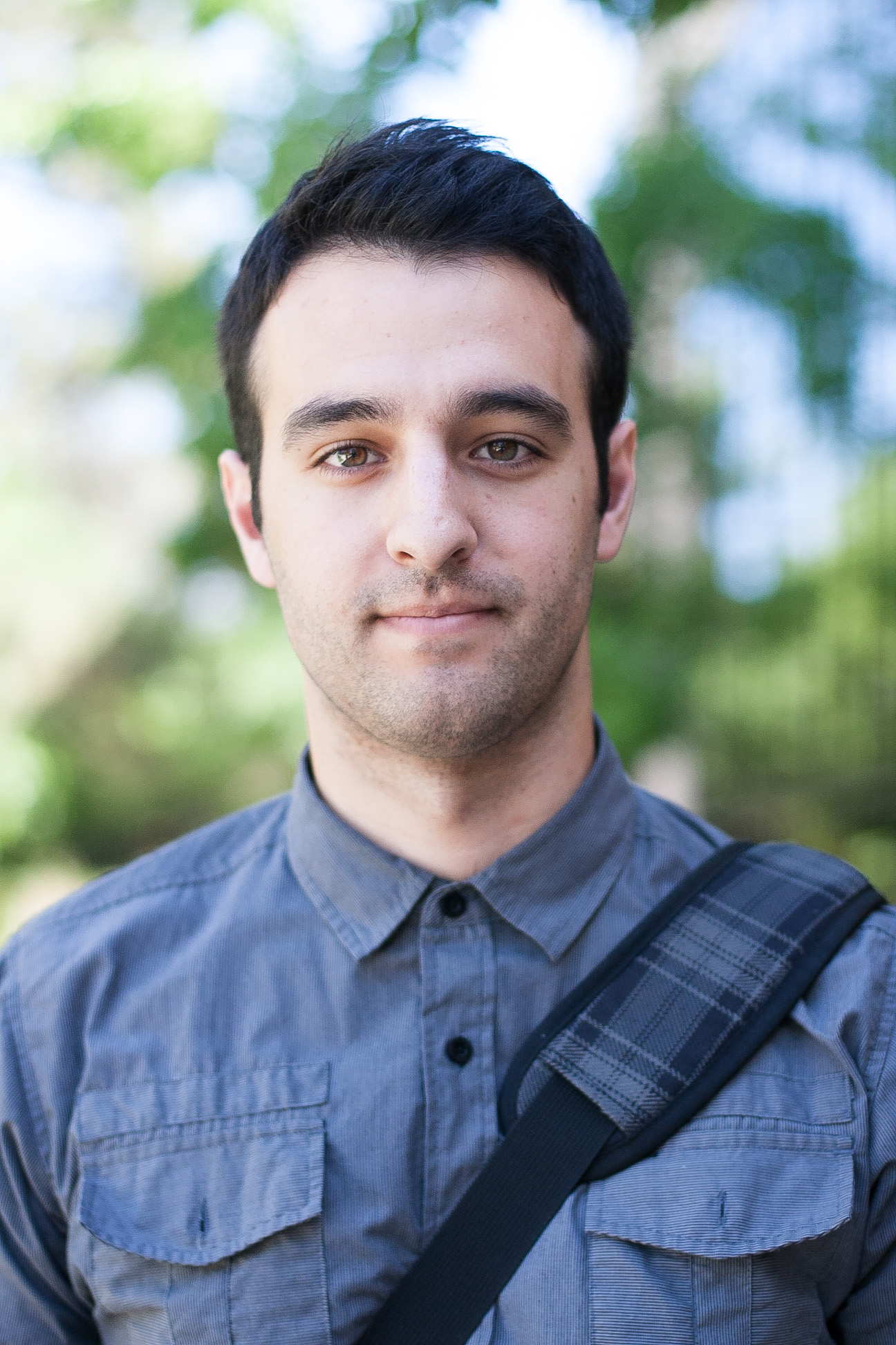 """Colin Rivera, England, senior, 25, commercial music, """"I don't know, 36 hours roughly--traveling home."""""""