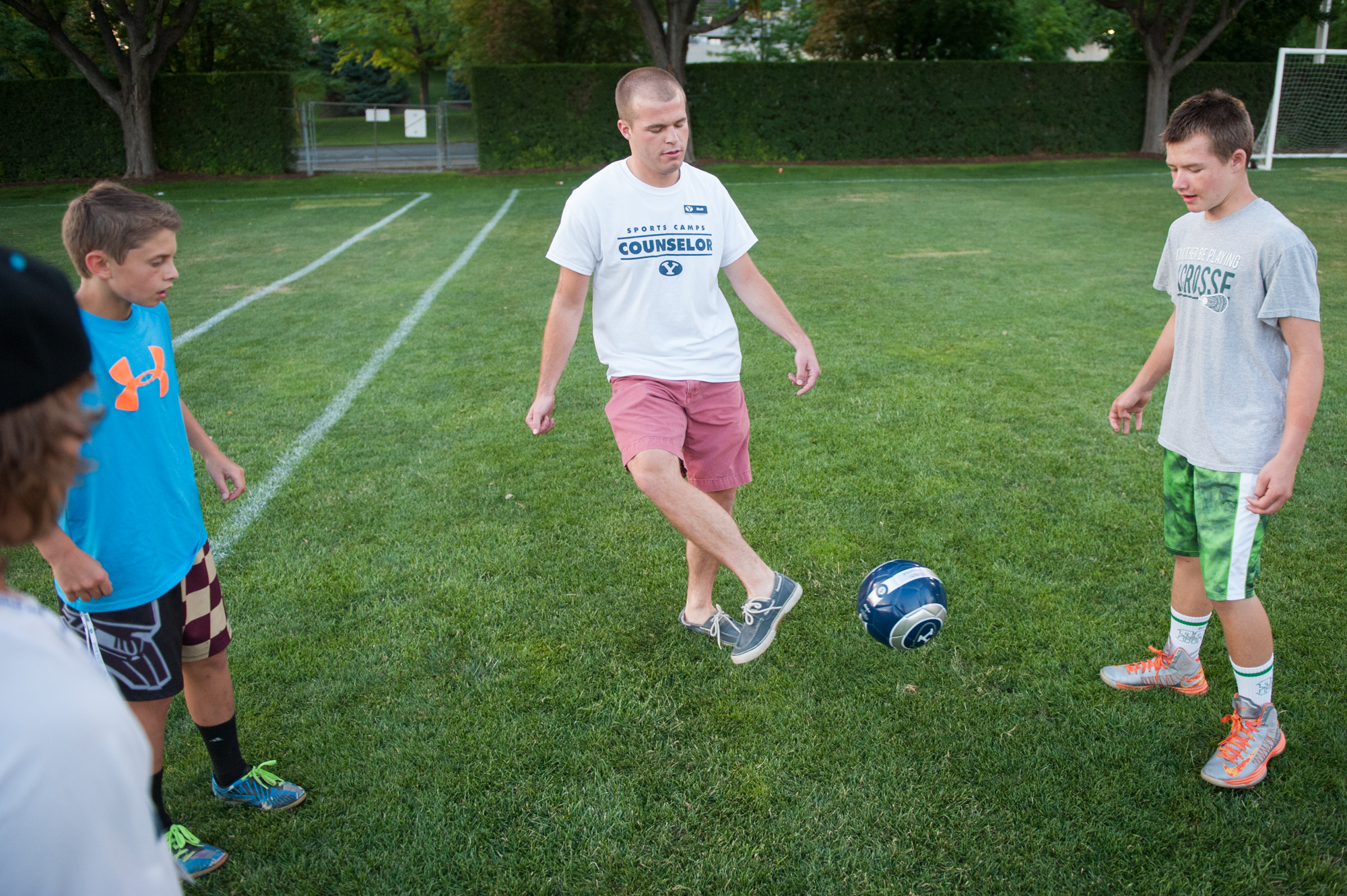 Summer camps give students opportunities to work and learn