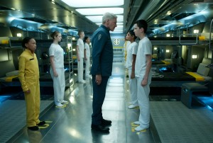 "Harrison Ford and Asa Butterfield star in ""Ender's Game,"" set to be released on Nov. 1, 2013. (Photo courtesy Summit Entertainment)"