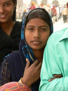The status of women in India is better understood through the country's clannism index assigned by Hudson's patrilocality scale. [photo taken by Bethany Brady]