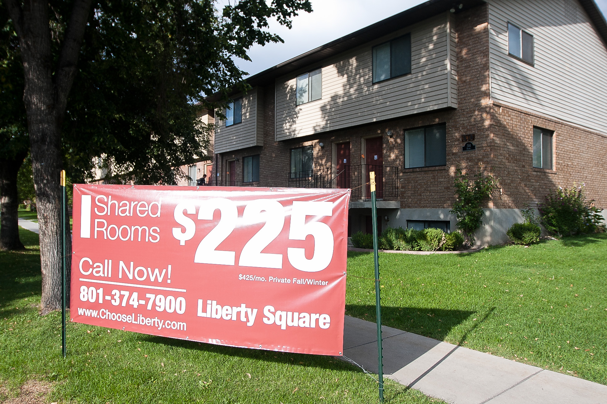 Rents around Provo are falling due to a fall in demand and rise in supply.