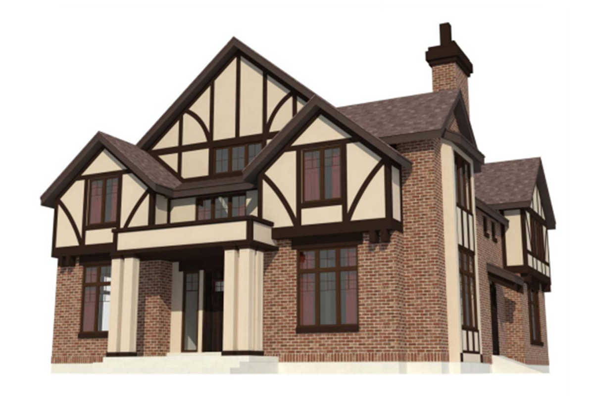 Plans recently approved by the Provo Planning Commission show the university's intent to build a guest house near the Former President's Home on the south end of campus. (Photo courtesy Provo Planning Commission)