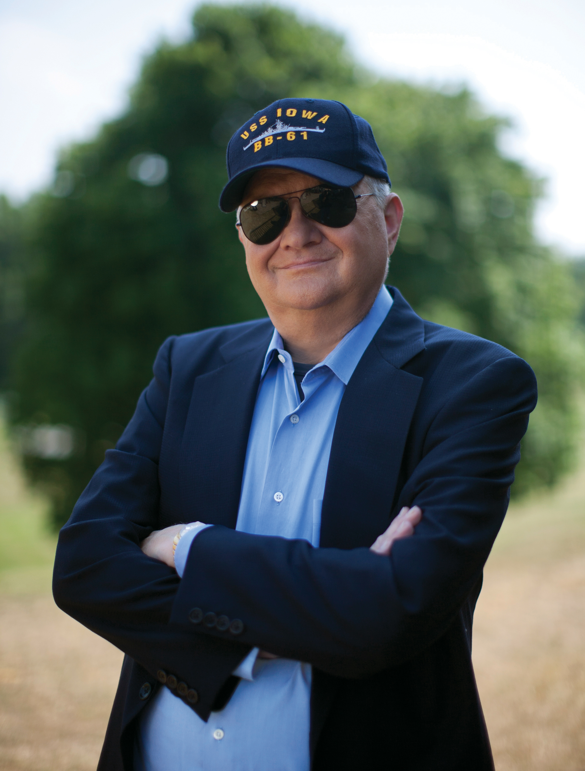 """Tom Clancy, the bestselling author of """"The Hunt for Red October"""" and other wildly successful technological thrillers, died Tuesday in Baltimore. The publisher did not disclose a cause of death. (AP Photo/G.P. Putnam Sons, David Burnett.)"""