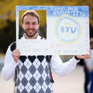 @brighamyounguniversity: OK. This was pretty good. Although it may not fly at the Testing Center. #BYU #Halloween