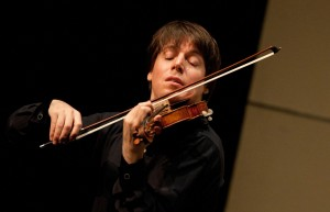 Joshua Bell, famous violinist, will perform at BYU on November 14.