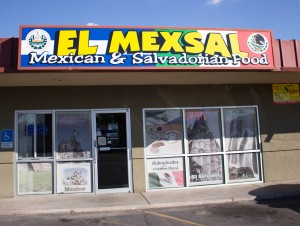 El Mexsal is a family-owned business, blending Salvadorian and Mexican food. (Photo by Ari Davis.)