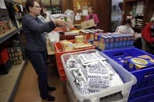 With a recent cut in food stamp funding, Community Action Services and Food Bank in Provo is gearing up for increased demand. Photo courtesy AP