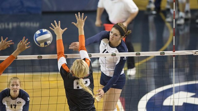 BYU volleyball prepares for last home games