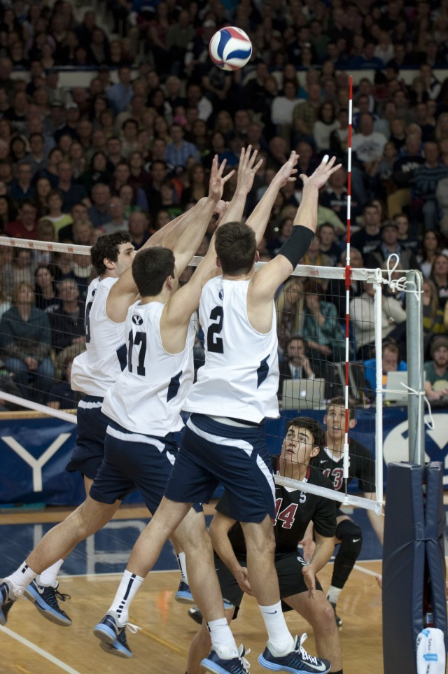 BYU volleyball beats No. 6 Stanford