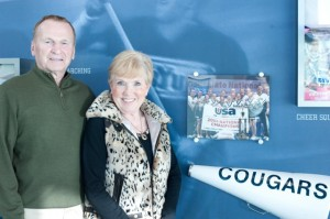 Bob and Cindy Wakefield arrange service projects for student athletes and have been recognized by the NCAA for their service. Photo courtesy Bob and Cindy Wakefield.