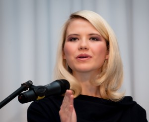 BYU graduate and activist Elizabeth Smart will speak in the de Jong theater at 7:15 p.m. on March 5. Photo courtesy Women's Services and Resources Office.