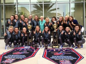 Last years team of Cougarettes 2012-13 won two national titles in the Hip Hop and Open Dance categories.