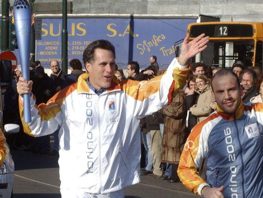 Romney torch