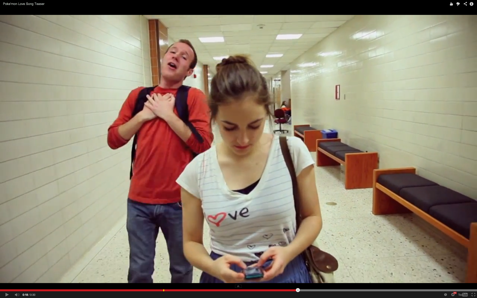"""This teaser video offers a glimpse of BYU student Zach Collier's """"Pokemon Love Song."""""""