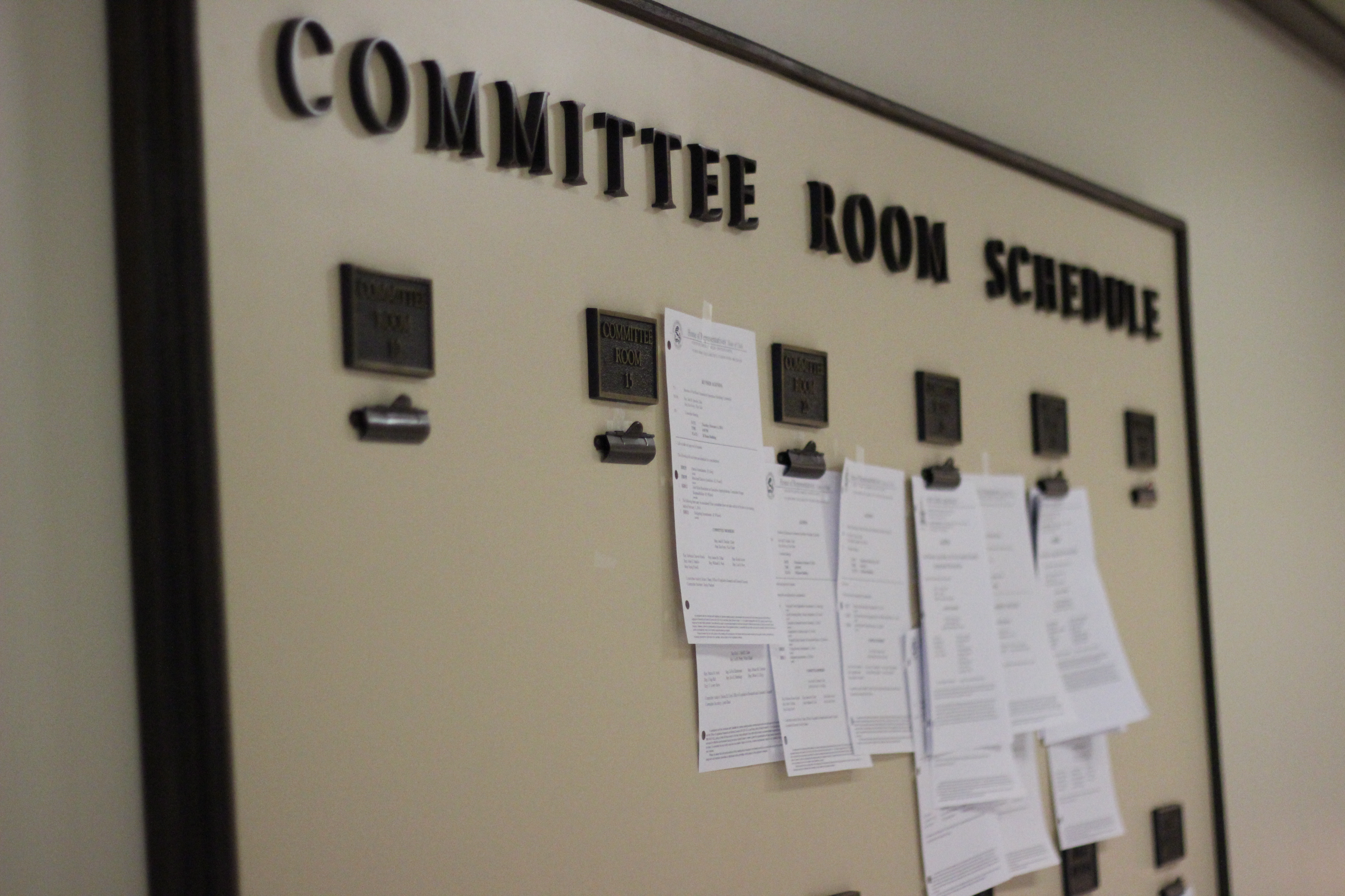 The Legislative Scheduling Board