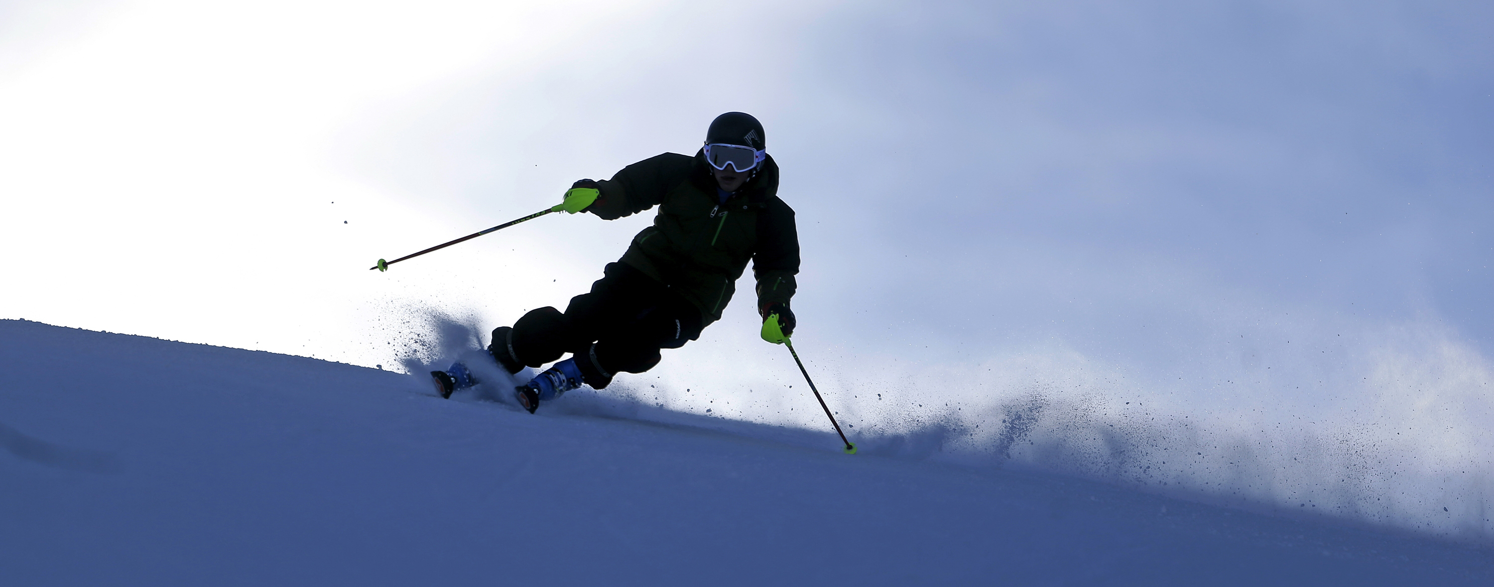 "A skier at Park City Mountain Resort. Utah is home to the ""best snow on earth"" and is one of the best states for young people."