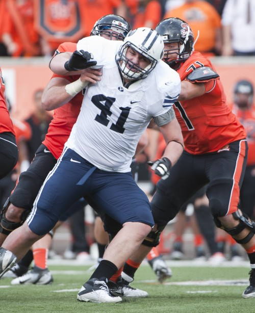 Tackling life: Former BYU football player takes on depression