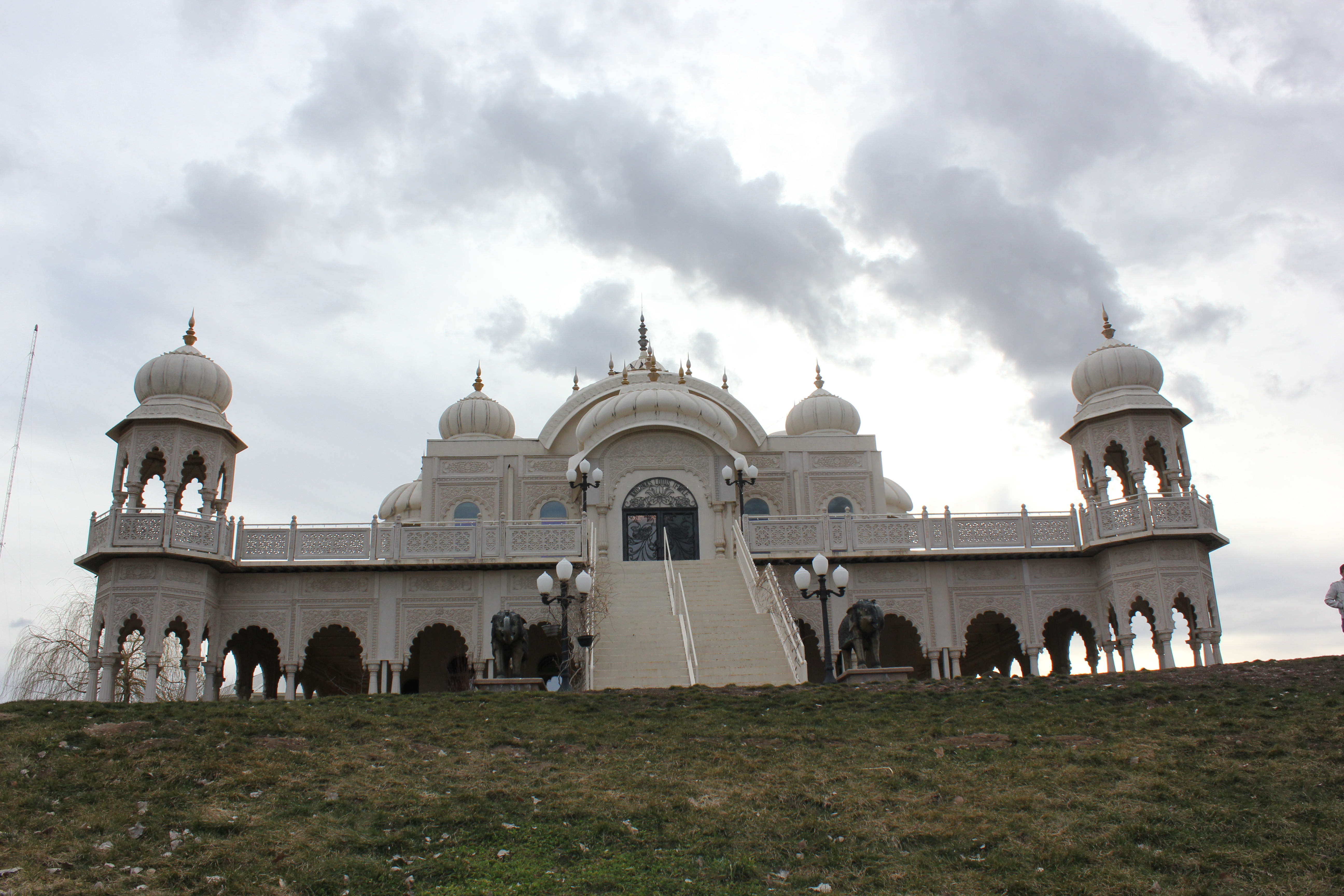 The Sri Sri Radha Krishna Temple in southern Spanish Fork, Utah is one of the only Rajasthani-style temples in the U.S. according to a temple worker.