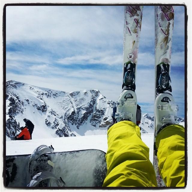 @oskarkarolina: Beautiful weather in Utah! Skiing and Snowboarding after Nationals. #snowbird #utah #provo #saltlakecity #nationals #byu #skiing #snowboarding #oskarkarolina #oskarandkarolina