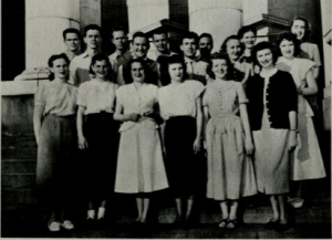 BYU Honor Committee in 1949 (Photo from the BYU Banyan).