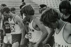 Male hairstyles at BYU in 1974 (Photo from The Banyan, BYU's yearbook).