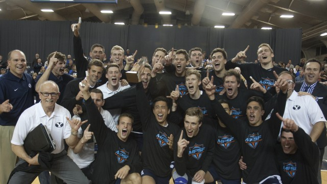 BYU men's volleyball sweeps Stanford to win second consecutive MPSF title