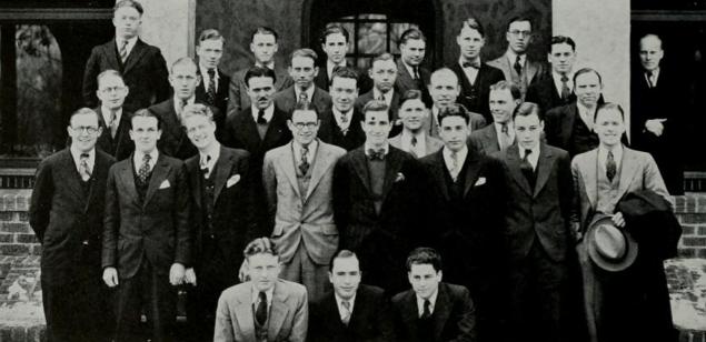 Members of Alpha Kappa Psi 1930