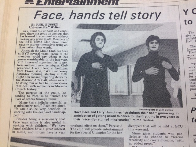#TBT: Face, hands tell story
